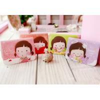 China Cute Girl Plastic PVC Credit Card Holders Wallets on sale
