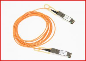 China 2km 10G SFP + AOC Active Optical Cable Compatible 40G Cables LC Connector on sale