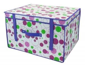 China 2013 Large Volume Collapsible Nonwoven Fabric Storage Boxes on sale