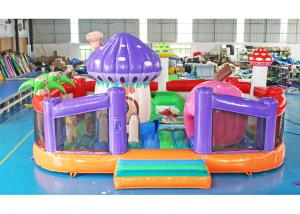 China Kids Indoor Inflatable Play Park Multi Functional 1 Year Warranty 6*3.5*2.2m on sale