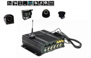 China Dual SD Card Mobile DVR Ahd 720P Mobile DVR 3G / 4G WIFI GPS Realtime Monitoring Car DVR on sale