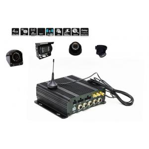 China Dual SD Card Mobile DVR Ahd 720P Mobile DVR 3G / 4G WIFI GPS Realtime Monitoring Car DVR on sale