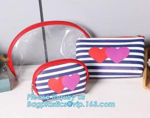 China Eco Shopping Bags Toiletry Kits Pvc Zipper Pouch Makeup Cosmetic Travel Organizer on sale