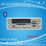 China JK0061BT  Bluetooth aux sd card usb fm module mp3 player circuit board wholesale