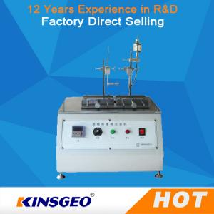 China Thermal Deformation Friction Testing Equipment Alcohol Abrasion Tester 310×200 Mm on sale