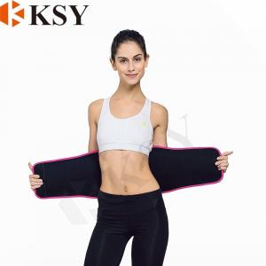 China Factory price high quality waist trimmer sweat belt elastic waist support band on sale