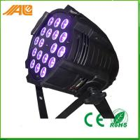 New Par Can Light 18pcs 15w Rgbwa Uv 6in1 Led Par Disco Stage Light / Dmx Par Light