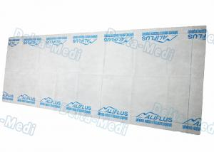 China Disposable Examination Table Bed Cover , Non Woven Spa Bed Sheet Washing Free With LOGO on sale