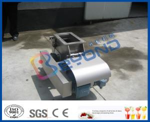 China SUS 304 High Automatic Electric Apple Crusher / Apple And Fruit Crusher Hammer Type on sale