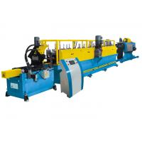 China Door Frame / Shutter Cold Roll Forming Machine Fast With Conveying Platform on sale