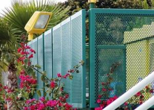 China Residential Perimeter or The Road on Both Sides Perforated Metal Fence on sale