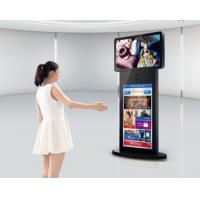 55 inch High Brightness Stand Alone Touch Screen Advertising Player With Contrast Ratio 1000:1