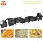Semi-automatic Potato Chips Making Line for Sale Potato Chips processing  Line Industrial Potato Chips Making Line