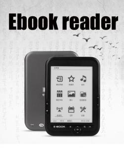 China 2020 The Best New 6 Inch 16GB Ebook Reader E-Ink Capacitive E Book Light Eink Screen E-Book E-Ink Made In China Factory on sale