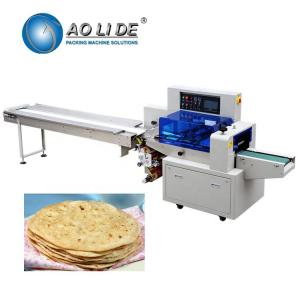 China Manufacturer automatic high speed flow Brioche sandwich French pita Croissant sliced arabic bread packing machinery price on sale