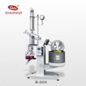 China Alcohol/Water distillation equipment- 10L Rotary Evaporator R-1010 on sale