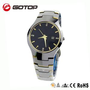 China Classic Geneva Diamond Swiss Sapphire Luxury Tungsten Watch on sale