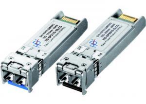 China SFP 10g Optical Transceiver , Single Mode Fiber Transceiver For Data Center on sale