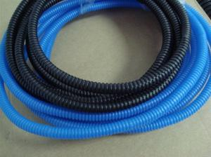China Blue Color Flexible Flexible Corrugated Pipe for Cable Protection For Sale on sale