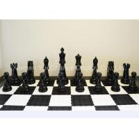 China Large Size Window Display Decorations Decorative Fiberglass Chess Pieces on sale