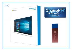 China 64 Bit DVD OEM License Microsoft Windows 10 Operating System  / home Software French activation online on sale