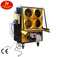 bigger power 800000But waste oil heater with canvas tube for poultry farm
