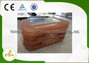 Quality Mobile Teppanyaki Grill Portable Hibachi Table Electromagnetic  Induction Heating For Sale