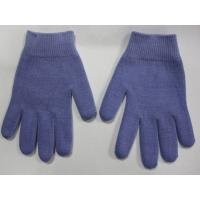 Youth Gel Moisturizing Gloves Spa Gel Filled Blue Cotton Gloves For Moisturizing Hands