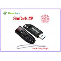100% Original SanDisk CZ48 USB 3.0 Flash Drive 64gb With Password Protection , Black Color