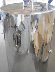 China 350L Gelatin Stainless Steel Storage Tanks For Gelatin Storge on sale