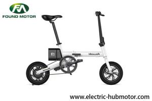 China 5 Speed Adjustment Foldable Electric Bike Lithium Battery Powered Adults Using on sale