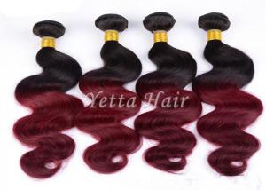 China No Lice Ombre Virgin Hair Extensions Long-Lasting And Lustrous on sale