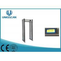 Airport Metal Detector Body Scanner , 18 / 24 / 33 Zones Security Walk Through Gate