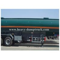 China 25 to 60 CBM Fuel / Oil Tank Semi Trailer Truck Aluminum and stainless steel optional on sale