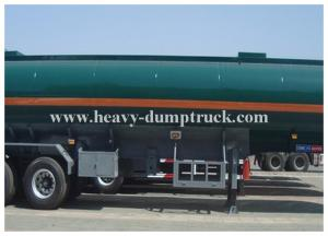 China 25 to 60 CBM Fuel / Oil Tank Semi Trailer Truck Aluminum and stainless steel optional supplier