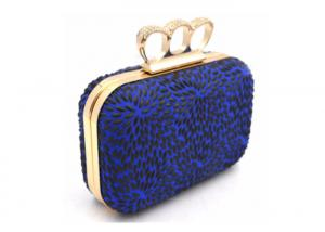 China Small Wallet Evening Clutch Bags , Ladies Clutch Handbags Pu Leather Material on sale