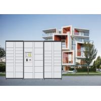 Indoor & Outdoor Automated Parcel Lockers Quick Dropdown And Pickup