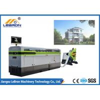 China Prefabricated House Roll Forming Machine White Color Light Gauge Steel Framing Machines on sale