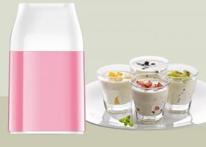 China Homemade Organic Yogurt Maker Manual Power Free No Added Preservatives Full Nutrition on sale