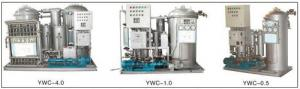 China Marine YWC oily water separators with EC certificate on sale