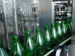 Rotary Linear 500ml Juice / Carbonated Drink Filling Machinery With PLC Control