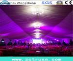 贅沢な結婚披露宴のテント