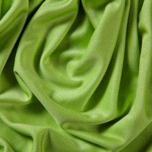 China 110GSM Green Knitted 100% Silk Jersey Fabric In Stock on sale