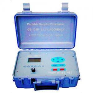 China Portable Doppler Ultrasonic Flow Meter Flowmeter on sale