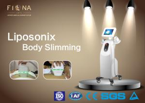 China Ultrasound Fat Reduction Body Slimming Machine Hifu Liposonix Focused White Color on sale