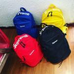 Supreme Backpack Nylon Waterproof Casual Laptop schoolbag travel bag