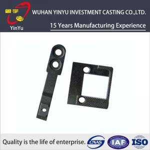 China SCM415 AISI 4340 Material Sewing Machine Spare Parts / Sewing Machine Needle Plate on sale