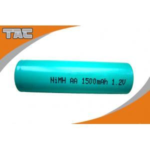 China 1.2V NI-MH AA Batteries 1500mAh Long Cycle Life , Ni-MH Rechargeable battery on sale