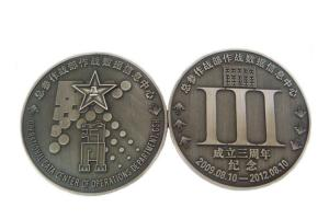 China Antique Souvenir Custom Metal Coins With Unique Personalized Boxes on sale