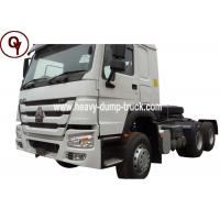 China 371HP A7 Heavy Duty Manual Transmission Tractor Truck Diesel Fuel Type on sale